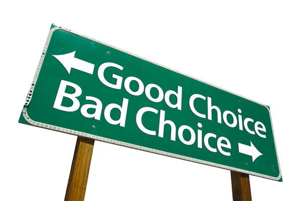 bigstock-Good-Choice-Bad-Choice-Road-2737874