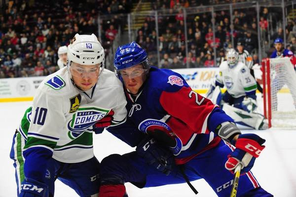 Comets Game 44