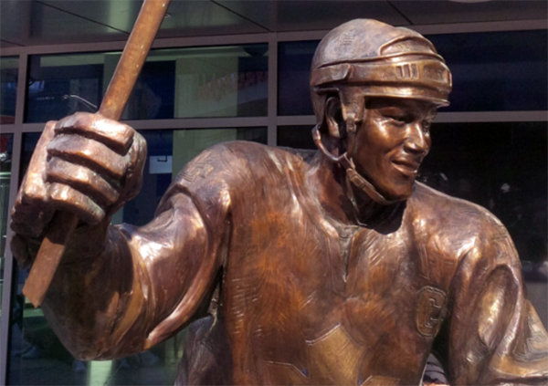 Somebody Might Have Broken Mats Sundin S Statue