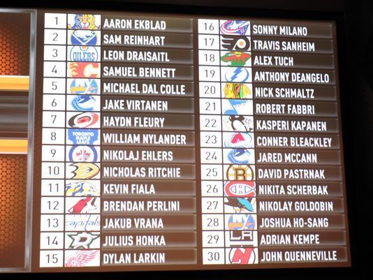 draisaitl draft board