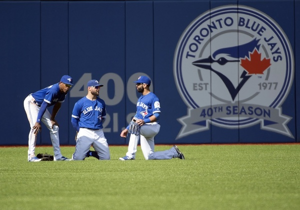 Jays outfielders