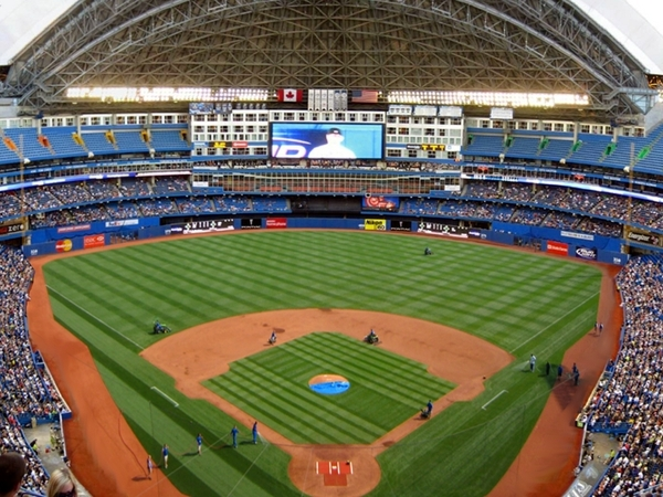 Rogers Centre grass