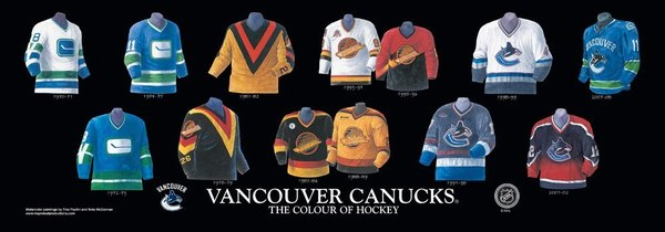 55c66ef3e Canucks looked at dusting off the 90s flying skate jersey for Pat ...