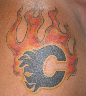 calgary-flames-tattoo