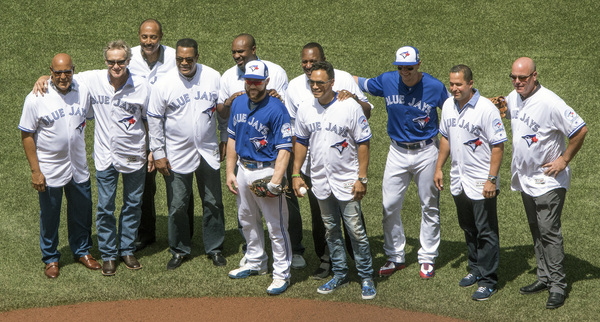 Jays group shot