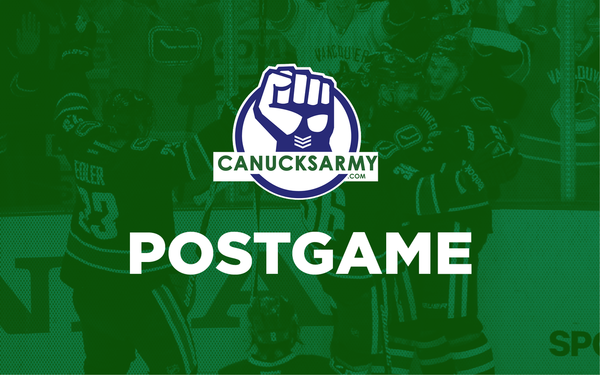 Canucks Army Postgame