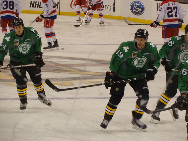Seguin in St Patty's Green