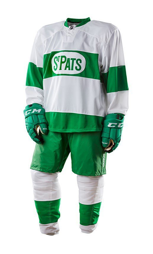 best service c76e0 26bed The St. Pats uniforms are back and better than ever ...