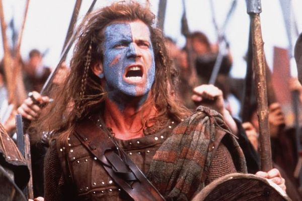 Mel Gibson as William Wallace in the film Braveheart-1782041