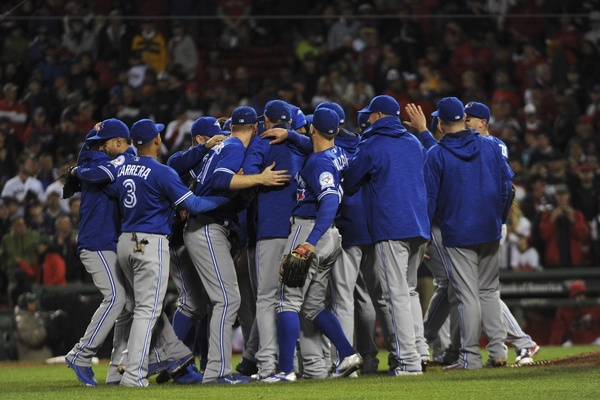 The Blue Jays clinch the top AL Wild Card spot