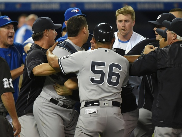 Severino-Smoak brawl